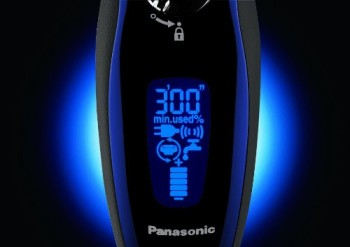 Panasonic ES-LV61-A Arc5 Electric Shaver Wet Dry with Multi-Flex Pivoting Head for Men LED Screen
